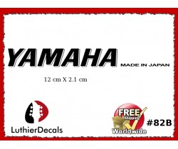 Yamaha Guitar Decal #82b